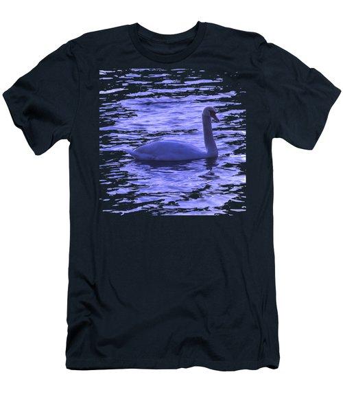 Swan Lake Men's T-Shirt (Slim Fit) by Vesna Martinjak