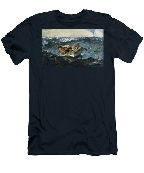 The Gulf Stream Men's T-Shirt (Slim Fit) by Winslow Homer
