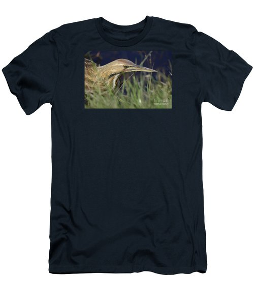 Men's T-Shirt (Slim Fit) featuring the photograph The Hunt by Kathy Gibbons