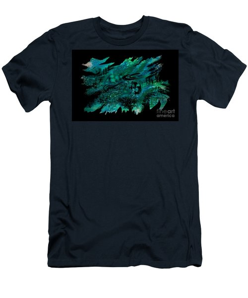 Untitled-129 Men's T-Shirt (Athletic Fit)