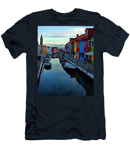 Venice Burano Men's T-Shirt (Athletic Fit)