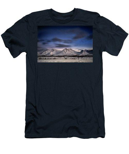 Winter Wonderland Men's T-Shirt (Athletic Fit)