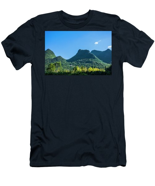 Countryside Scenery In Autumn Men's T-Shirt (Athletic Fit)