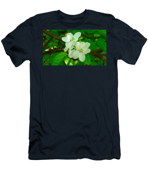 Apple Blossoms Men's T-Shirt (Athletic Fit)