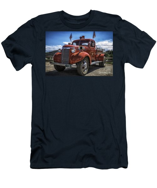 1940 Chevrolet Fire Truck  Men's T-Shirt (Athletic Fit)