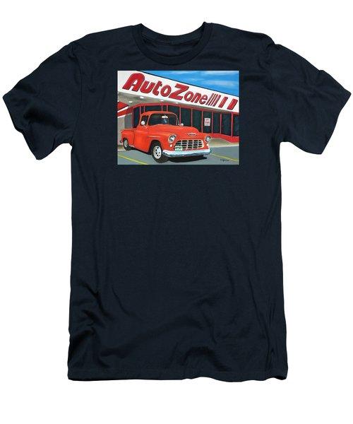1955 Chevy - Autozone Men's T-Shirt (Athletic Fit)