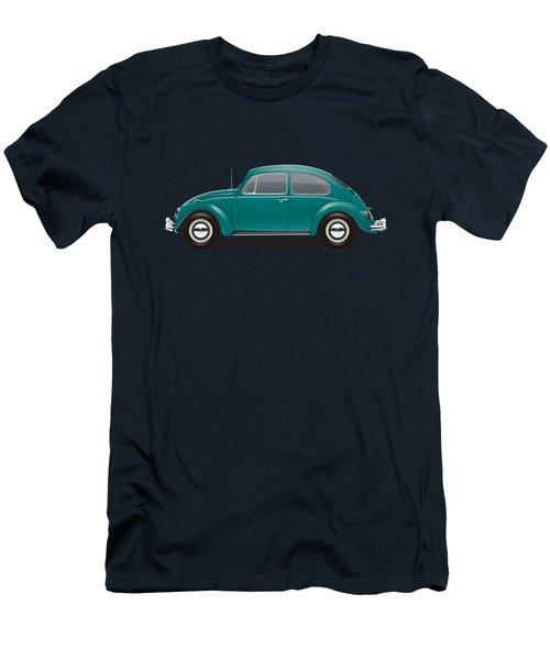1967 Volkswagen Sedan - Java Green Men's T-Shirt (Slim Fit) by Ed Jackson