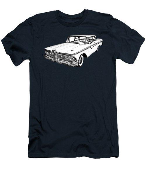 1959 Edsel Ford Ranger Illustration Men's T-Shirt (Athletic Fit)