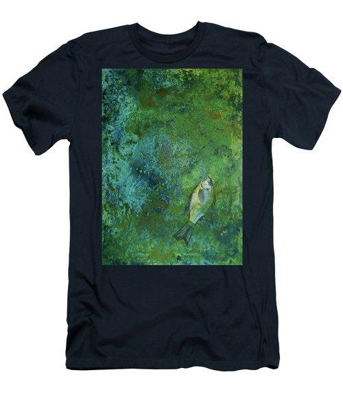 Algae Bloom Men's T-Shirt (Slim Fit)