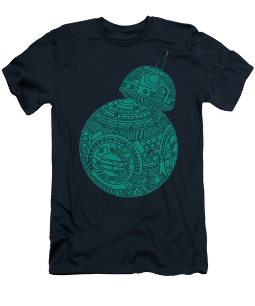 Bb8 Droid - Star Wars Art, Blue Men's T-Shirt (Athletic Fit)