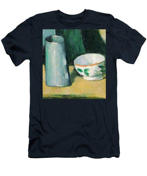 Bowl And Milk-jug Men's T-Shirt (Athletic Fit)