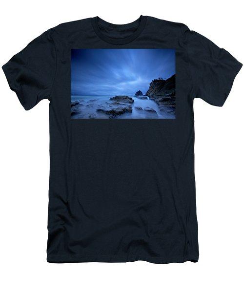 Men's T-Shirt (Slim Fit) featuring the photograph Cape Kiwanda by Evgeny Vasenev