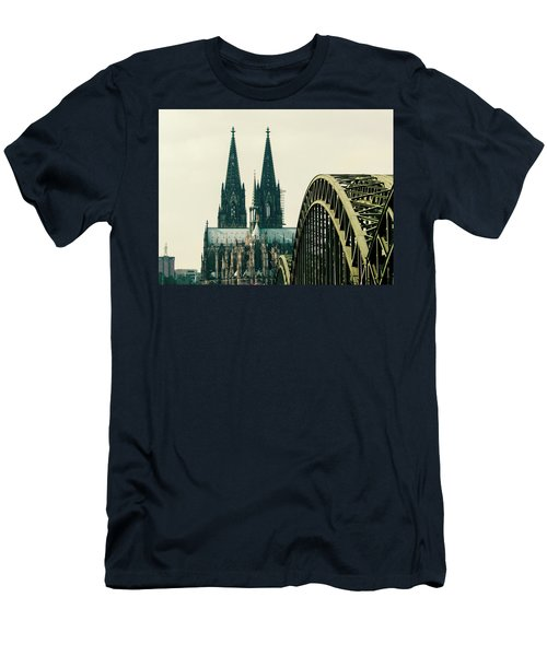 Cathedral Men's T-Shirt (Slim Fit) by Cesar Vieira
