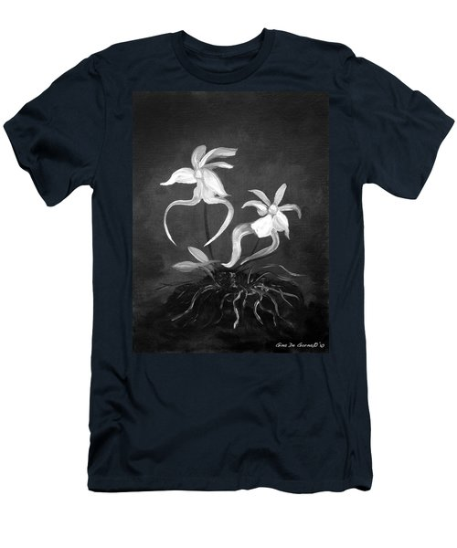 Ghost Orchids Men's T-Shirt (Athletic Fit)