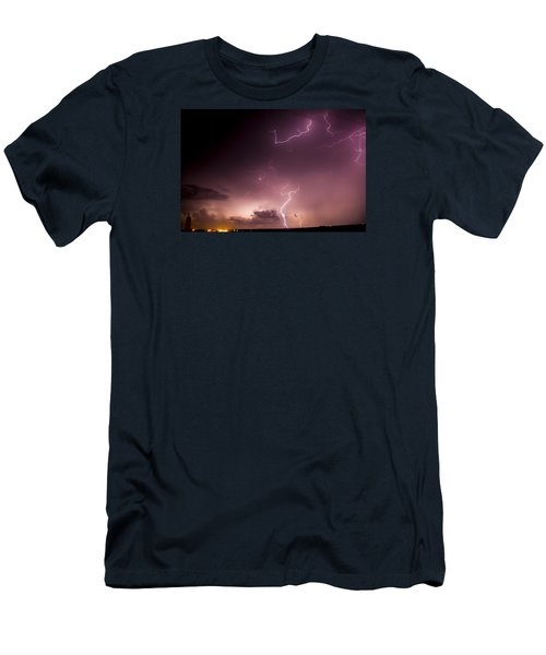 Late July Storm Chasing 057 Men's T-Shirt (Athletic Fit)