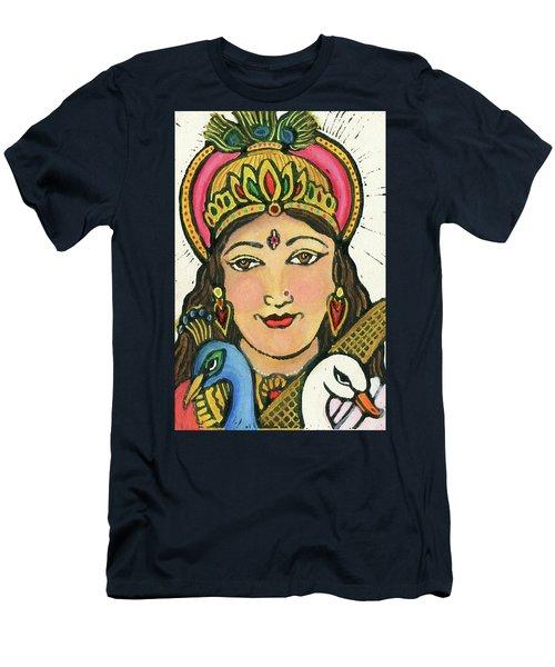 Saraswati Men's T-Shirt (Athletic Fit)