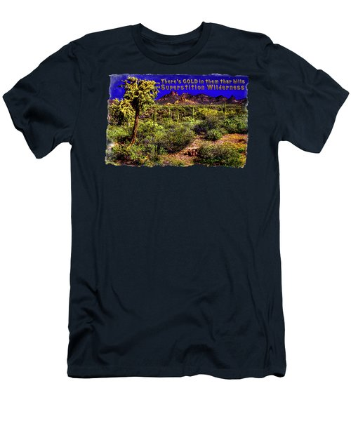 Sonoran Desert In The Superstition Wilderness Men's T-Shirt (Athletic Fit)