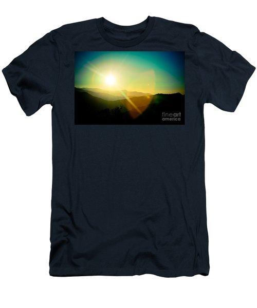 Sunrise In Himalayas Artmif Photo Raimond Klavins Men's T-Shirt (Athletic Fit)