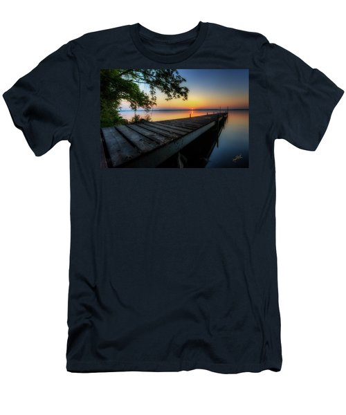 Sunrise Over Cayuga Lake Men's T-Shirt (Athletic Fit)
