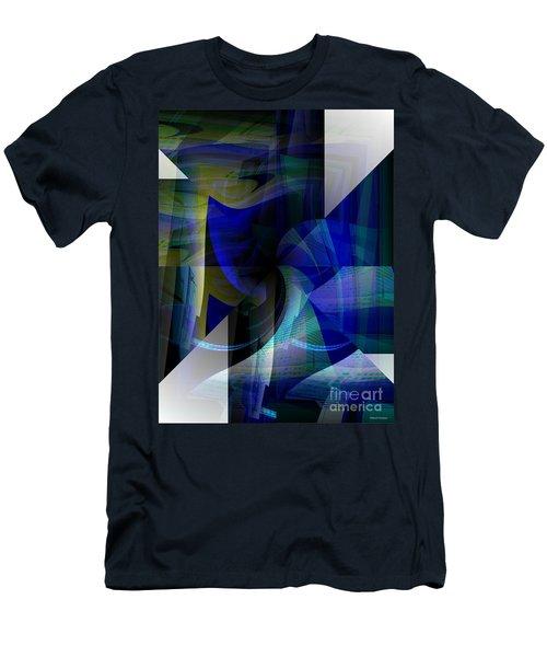 Transparency 4   Men's T-Shirt (Slim Fit) by Thibault Toussaint