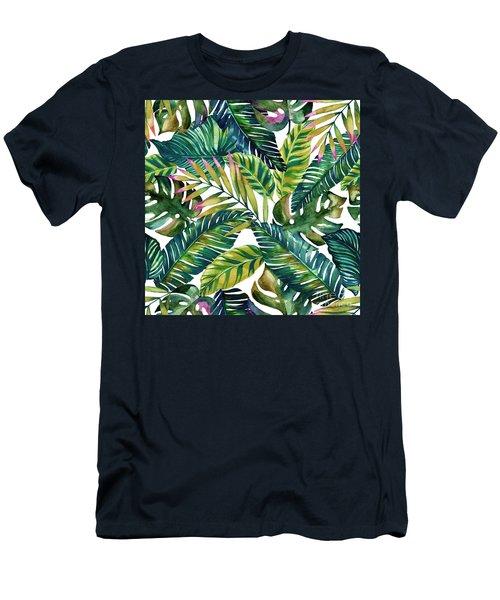 Tropical  Men's T-Shirt (Athletic Fit)