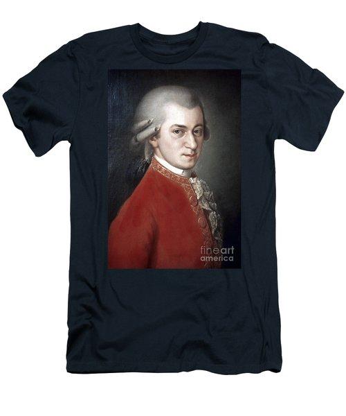 Wolfgang Amadeus Mozart Men's T-Shirt (Athletic Fit)