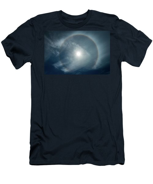 Men's T-Shirt (Athletic Fit) featuring the photograph 22 Degree Solar Halo by William Lee