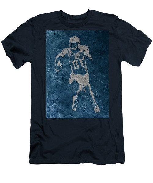 Calvin Johnson Lions Men's T-Shirt (Athletic Fit)