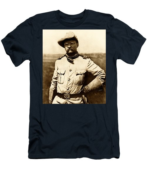 Colonel Theodore Roosevelt Men's T-Shirt (Athletic Fit)