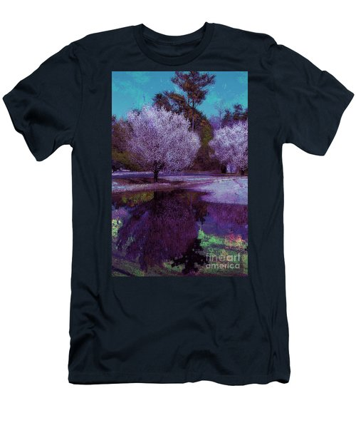 Men's T-Shirt (Athletic Fit) featuring the photograph Reflections by Donna Bentley