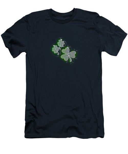 3 Shamrocks Men's T-Shirt (Athletic Fit)