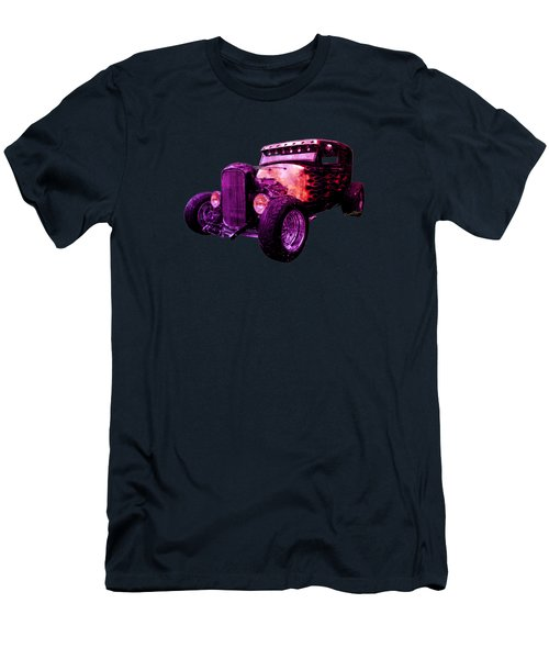31 Ford Model A Fiery Hot Rod Classic Men's T-Shirt (Athletic Fit)