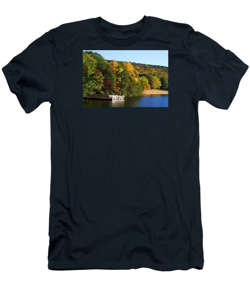 Hanging Rock Lake Men's T-Shirt (Athletic Fit)
