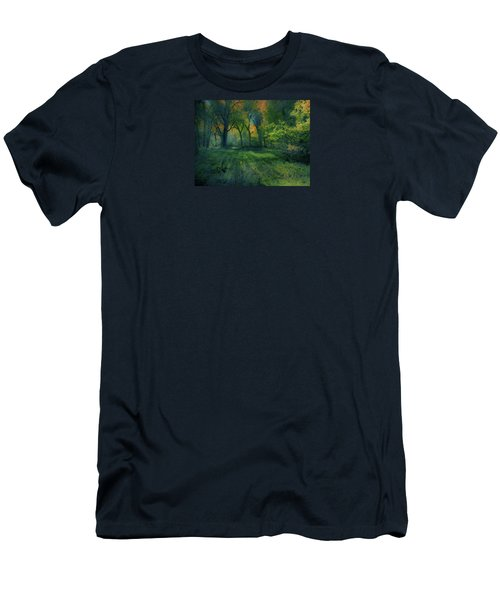 Men's T-Shirt (Slim Fit) featuring the photograph 4363 by Peter Holme III