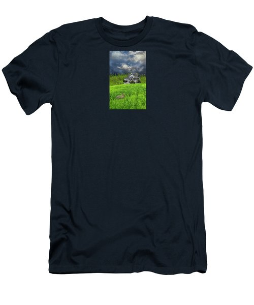 Men's T-Shirt (Slim Fit) featuring the photograph 4379 by Peter Holme III