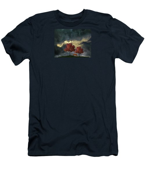 Men's T-Shirt (Slim Fit) featuring the photograph 4384 by Peter Holme III