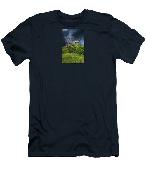 Men's T-Shirt (Slim Fit) featuring the photograph 4388 by Peter Holme III