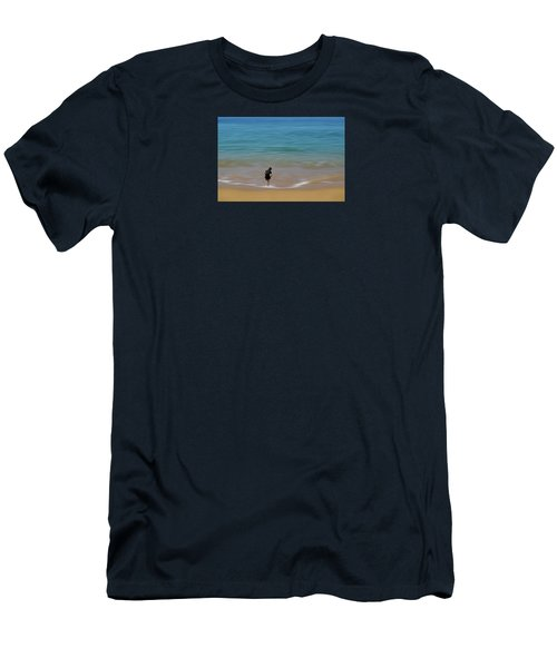 Men's T-Shirt (Slim Fit) featuring the photograph 4391 by Peter Holme III