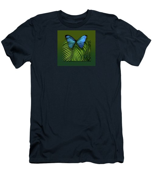 Men's T-Shirt (Slim Fit) featuring the photograph 4426 by Peter Holme III