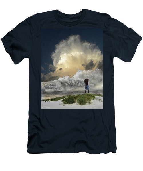 Men's T-Shirt (Athletic Fit) featuring the photograph 4457 by Peter Holme III