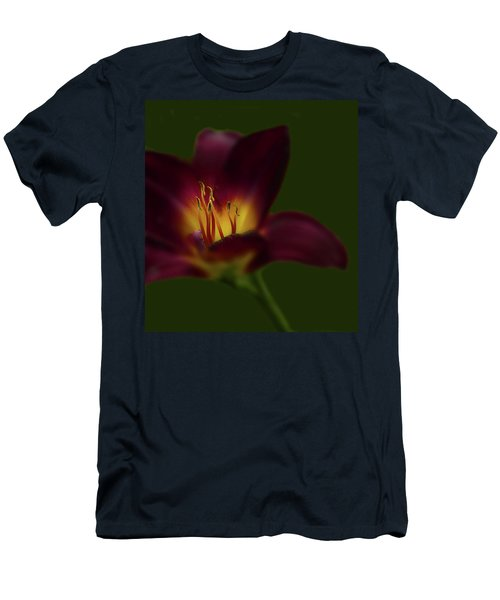 Men's T-Shirt (Athletic Fit) featuring the photograph 4479 by Peter Holme III