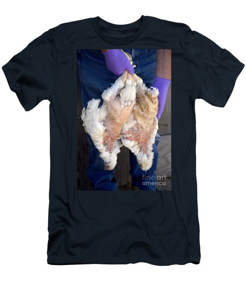 Bird Flu Inspection Men's T-Shirt (Athletic Fit)