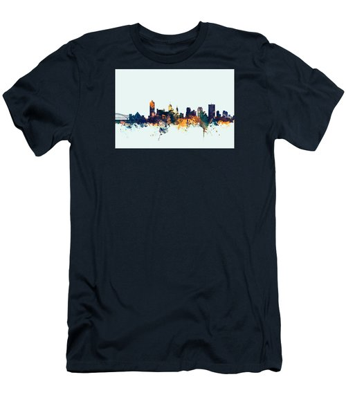 Memphis Tennessee Skyline Men's T-Shirt (Slim Fit)