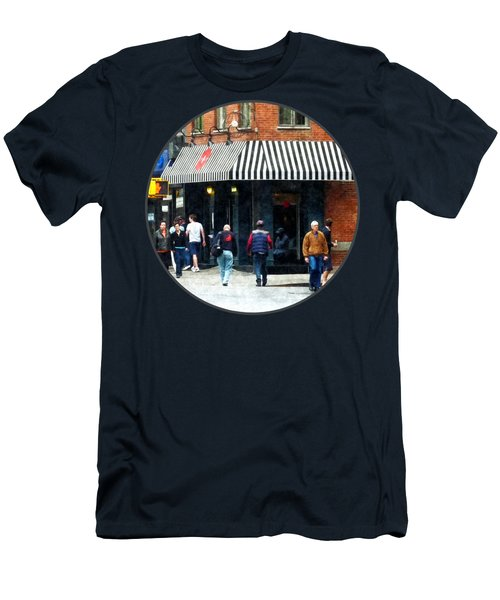 8th Ave. And W 22nd Street Chelsea Men's T-Shirt (Athletic Fit)