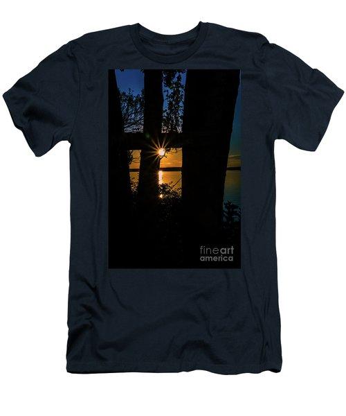 A Blissful Evening Men's T-Shirt (Slim Fit)