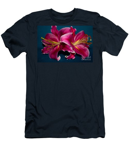 A Bunch Of Beauty Floral Men's T-Shirt (Athletic Fit)