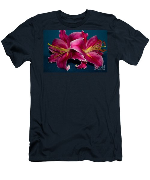 A Bunch Of Beauty Men's T-Shirt (Slim Fit) by Roberta Byram