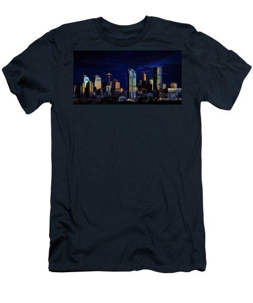 A Calgary Sunrise Men's T-Shirt (Athletic Fit)