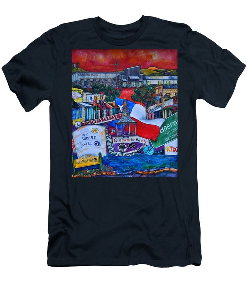 A Church For The City Men's T-Shirt (Slim Fit) by Patti Schermerhorn