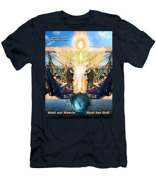 A Day Of Prayer For The Gulf Men's T-Shirt (Athletic Fit)